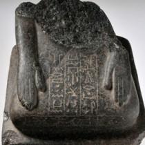 Two statues found in Elephantine Island, Aswan