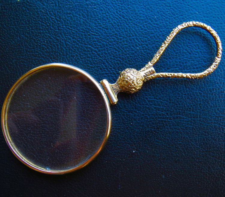 Victorian Age monocle.