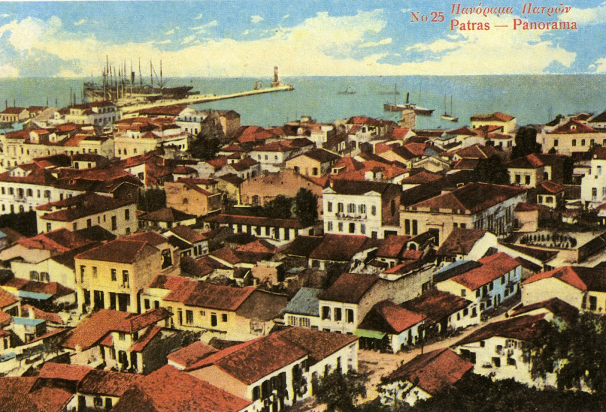 Fig. 10. Patras Panorama, Postcard.