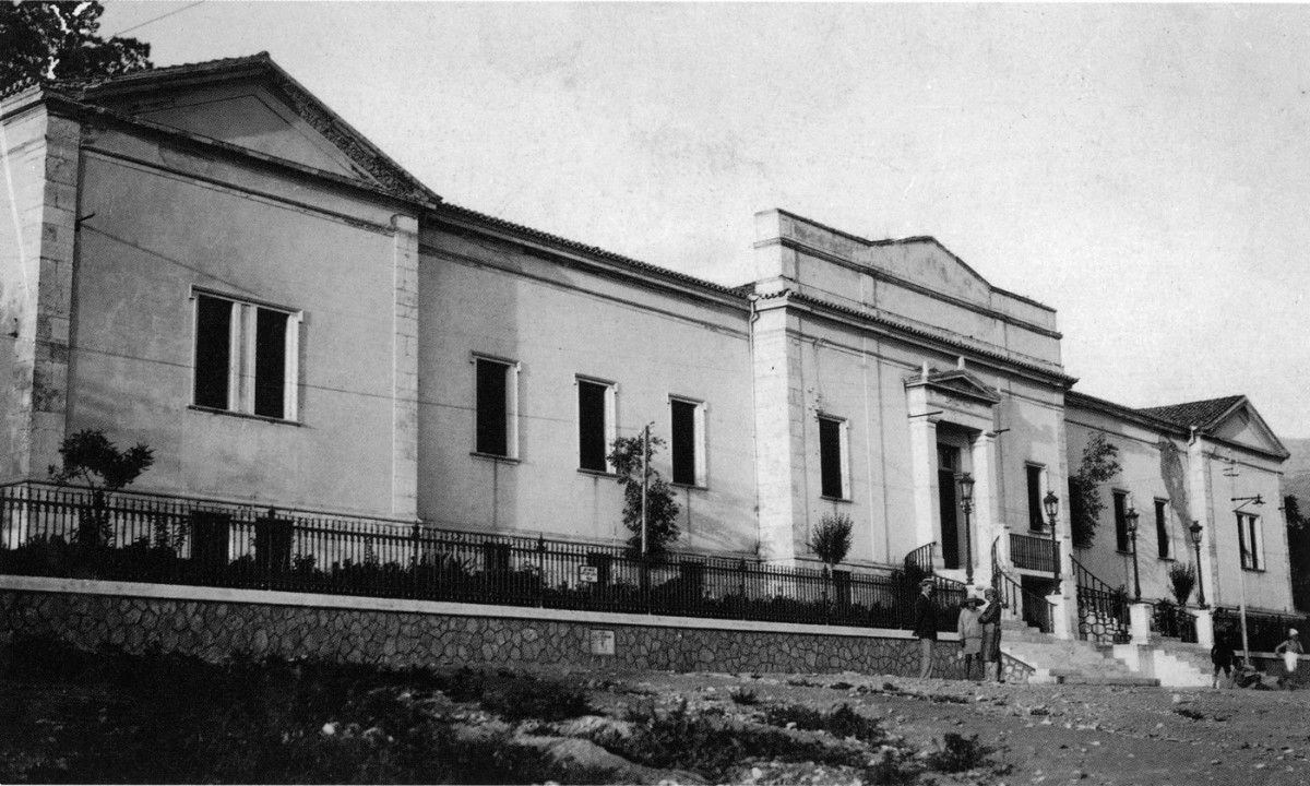Fig. 24. Patras Municipal Hospital ( 1857-1872). Architect: Christian Hansen (1803-1883).
