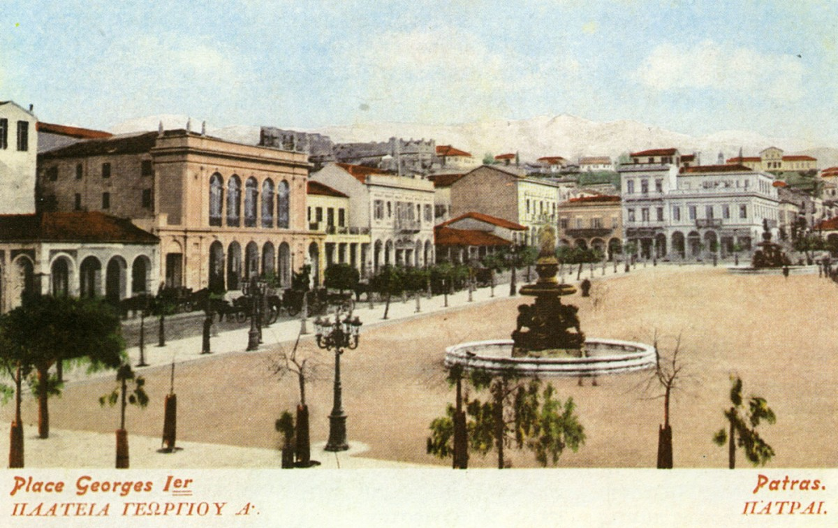 Fig. 27. Patras. Lower Town, Main Square of George I.