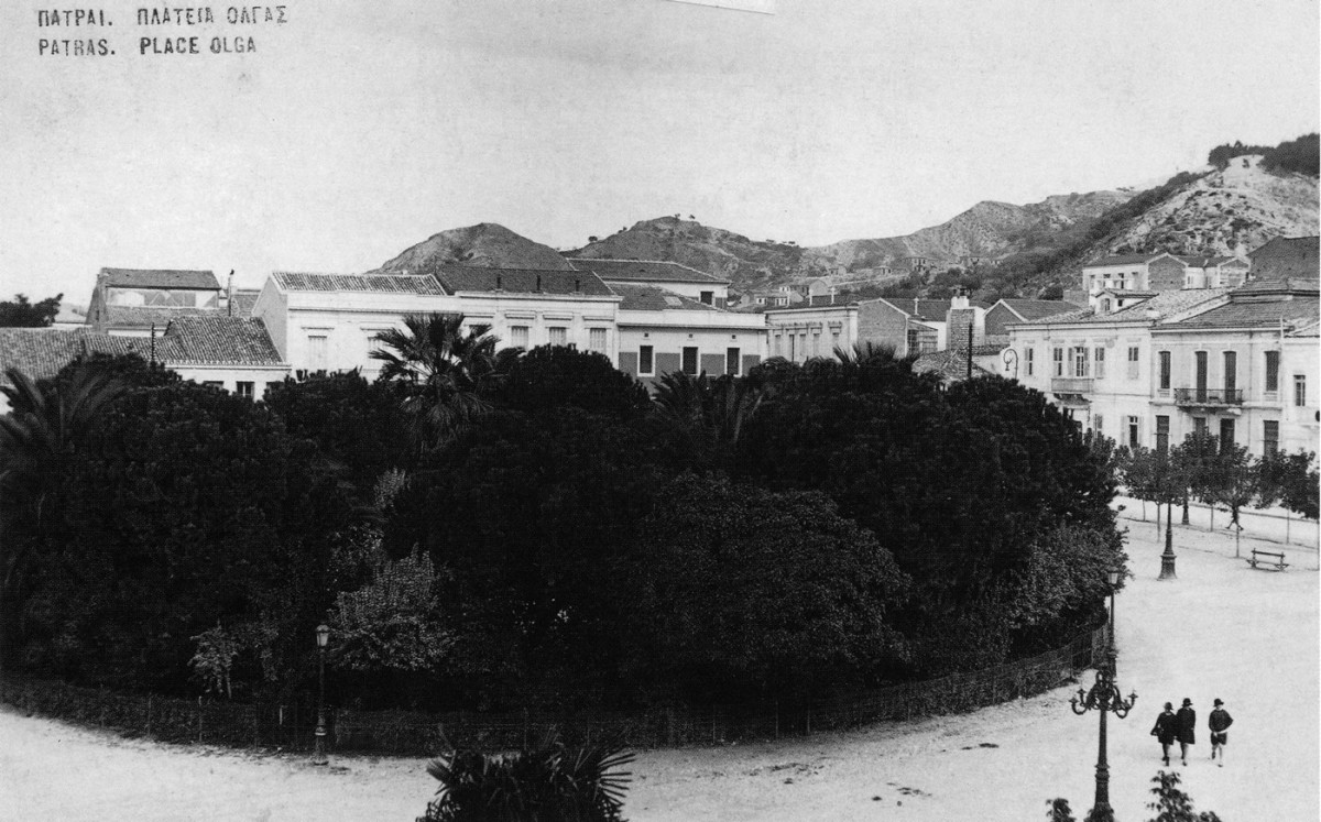 Fig. 29. Patras. Lower Town, Olgas Square.