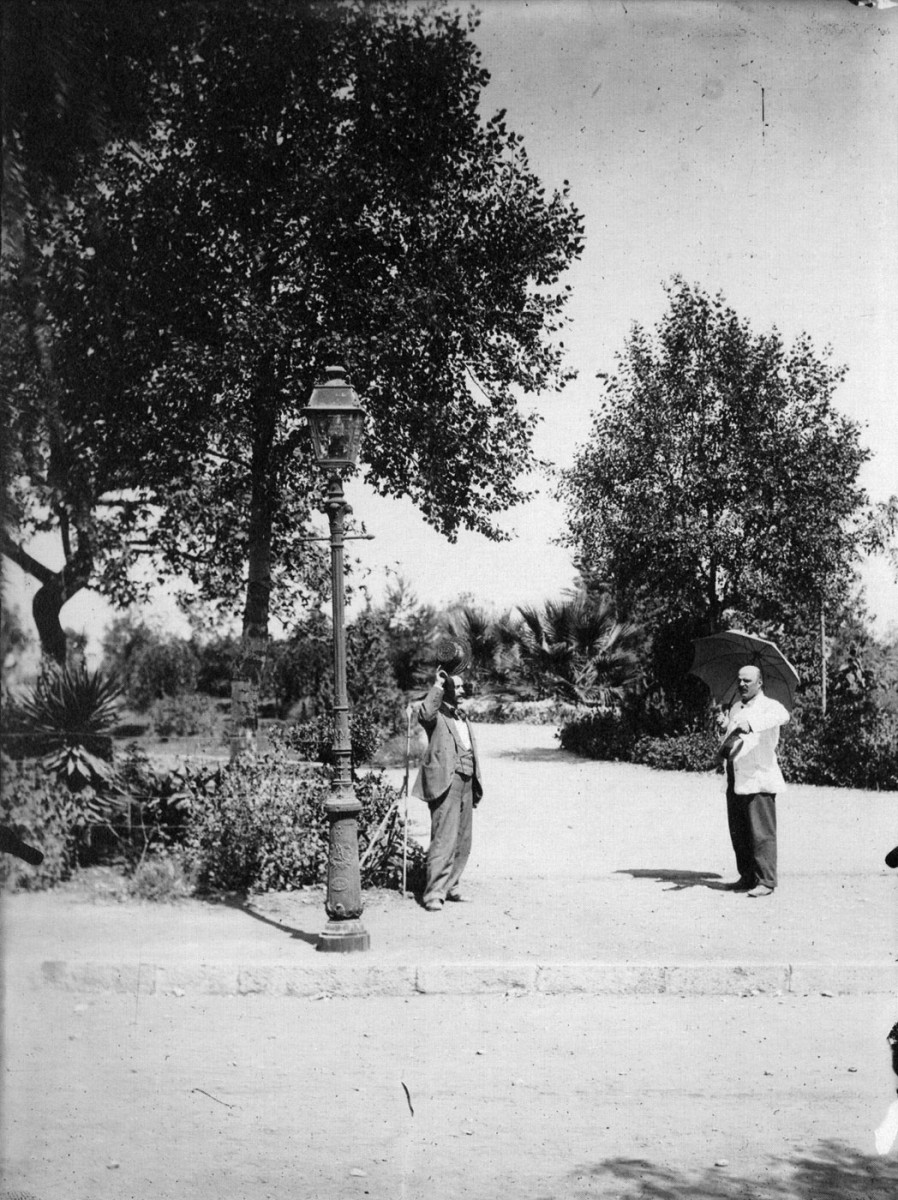 Fig. 30. Patras. Psila Alonia Square. A place for walks and recreation.
