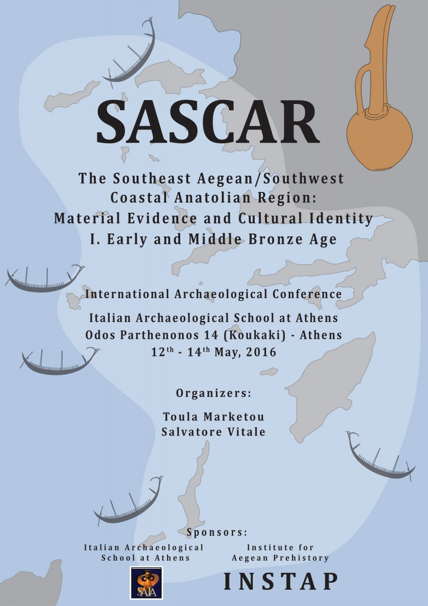 The first in a series of three events focused on material evidence and cultural identity in the Southeast Aegean/Southwest Coastal Anatolian Region (SASCAR) during the Bronze Age.