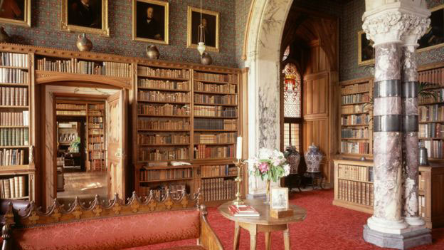 The third Marquess of Bute is thought to have bought the book. Photo Credit: Mount Stuart/BBC.