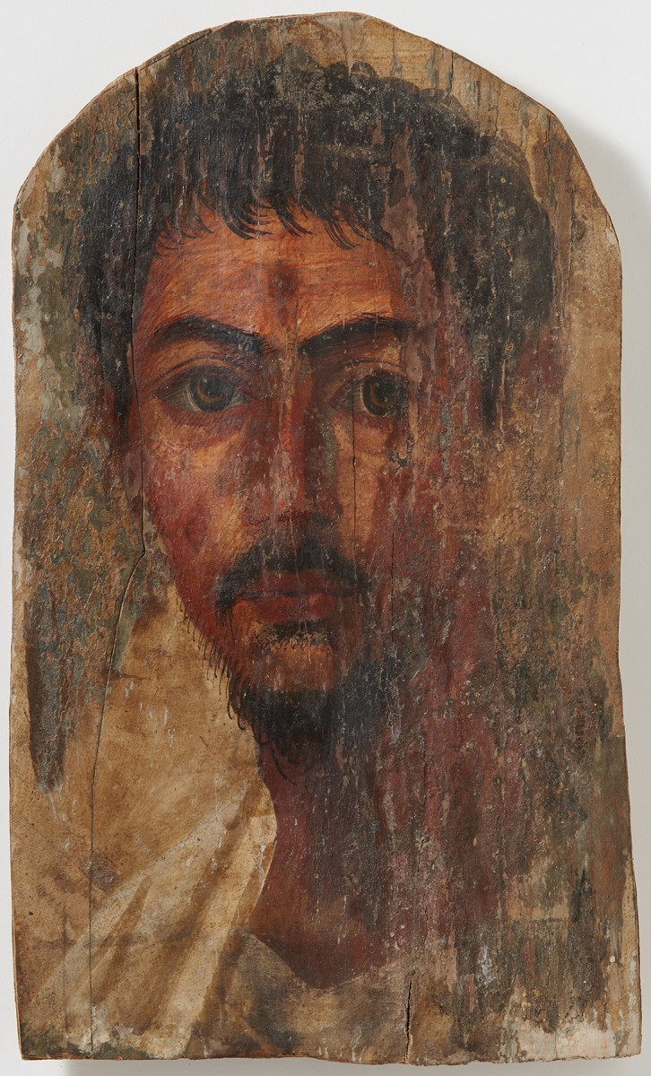 Mummy portrait of a young man (Frank Tomio; University of Zurich).
