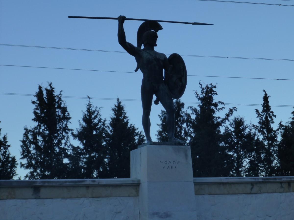 Thermopylae: Leonidas monument