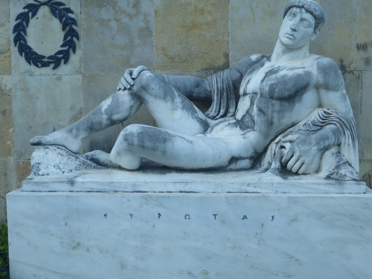 Thermopylae: monument of Eurotas