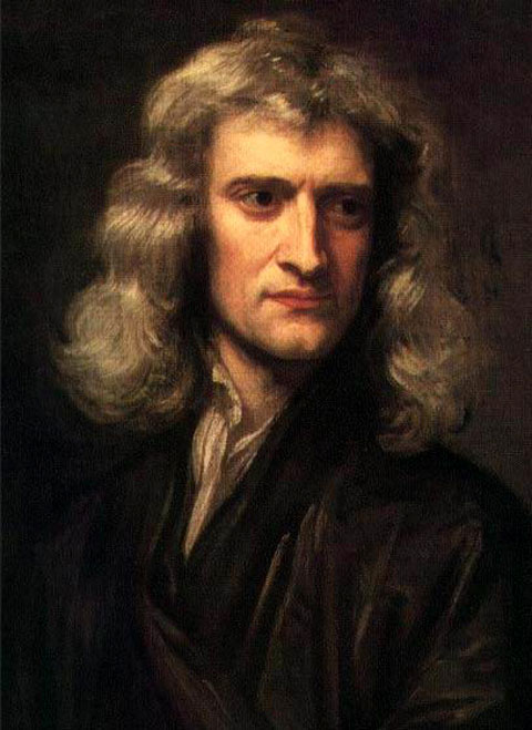 Fig. 2. Isaac Newton (1643-1727).