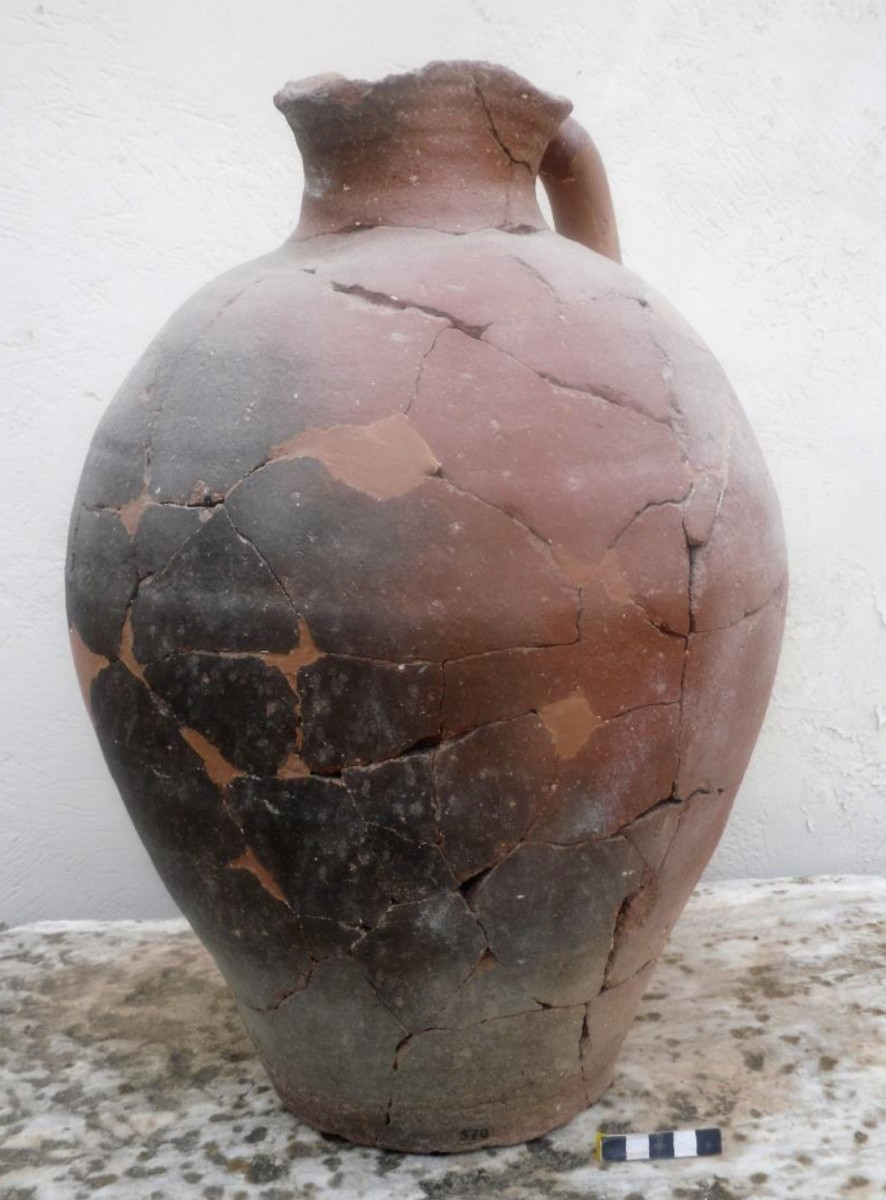 Fig. 2.   Local trefoil-mouthed jug from the Northern Sector at Ayia Irini.