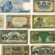 Greek Banknotes: Historical Evidence