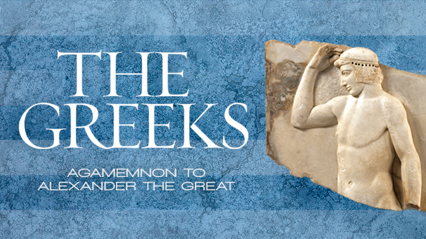 """""""The Greeks is the largest and most comprehensive exhibition of Greek history and culture to visit North America in a generation,"""" said Kathryn Keane, vice president of Exhibitions at the National Geographic Society."""