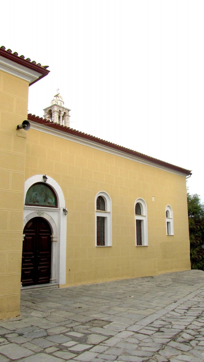 Fig. 1. The church of Panaghia Limnia in Skiathos.