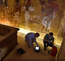 King Tutankhamun's secret chamber theory not so sure