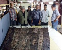 Pharaoh Khufu's second boat timber unearthed
