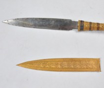 King Tut's dagger was made of meteorite iron