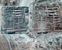 Temple of Nabu partly destroyed by IS