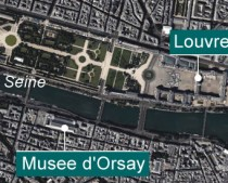 Works from the Louvre are moved due to flood