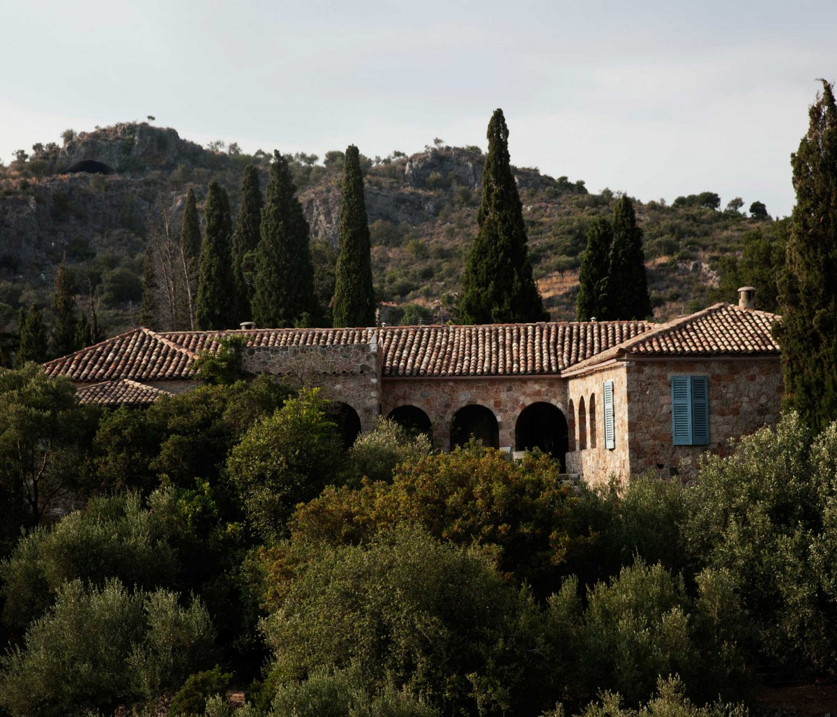 The House of Patrick and Joan Leigh Fermor. Photo by Kamilo Nollas.