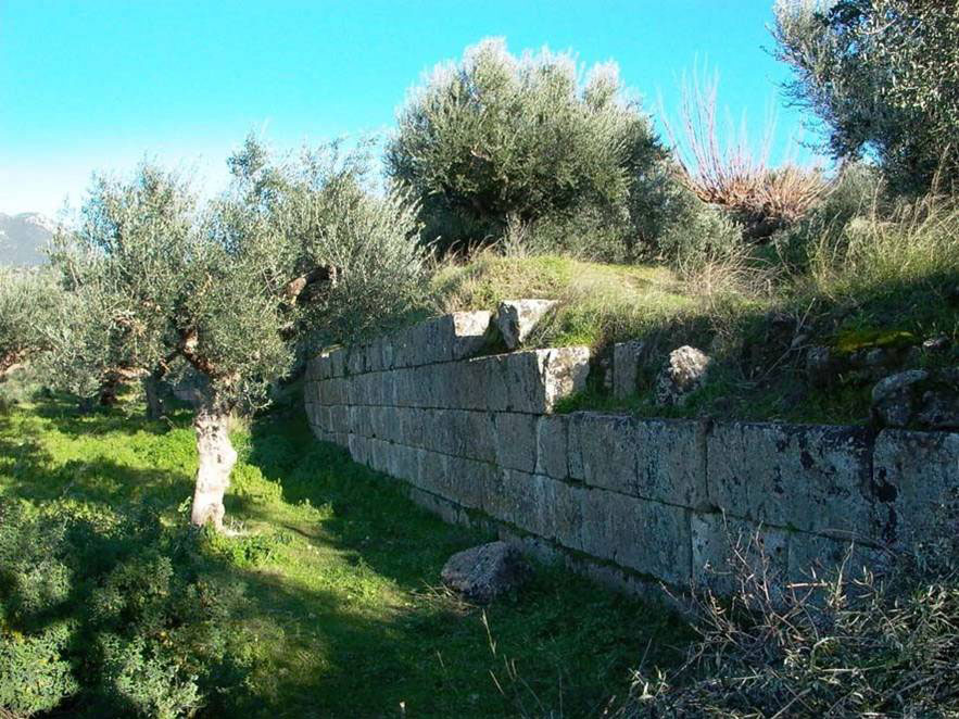 Fig. 1. View of the fortification wall of the ancient citadel.