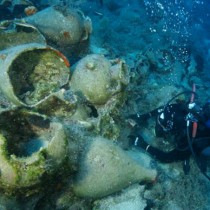 Another 23 shipwrecks located at Fourni