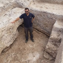 Impressive 1,600-year-old pottery kiln exposed in the Western Galilee