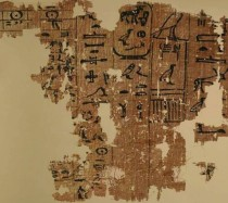 Oldest Egyptian papyri on display at the Egyptian Museum
