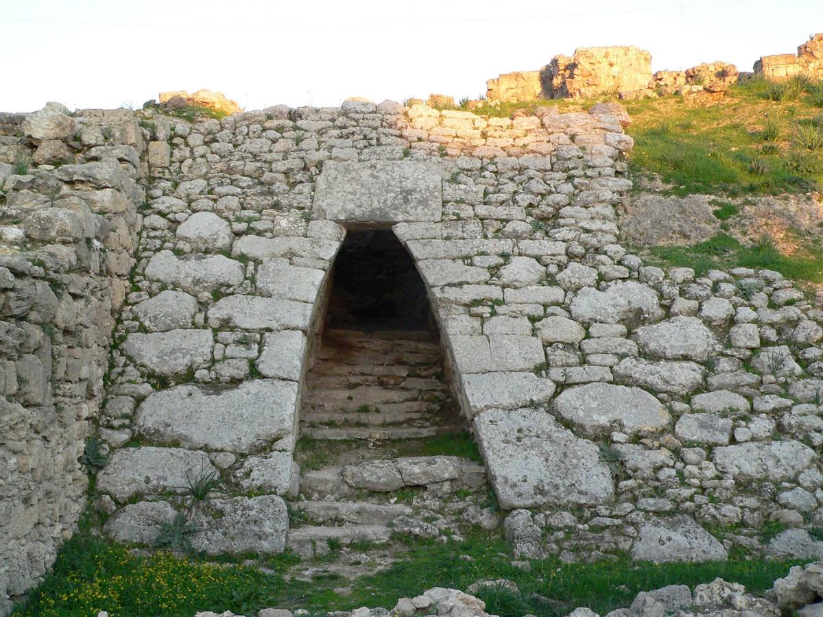 Ugarit Palace Entrance.