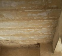 Rawer tomb ceiling and western wall have collapsed