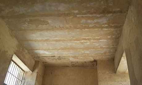 The ceiling of Rawer tomb. Photo Credit: Ahram Online.