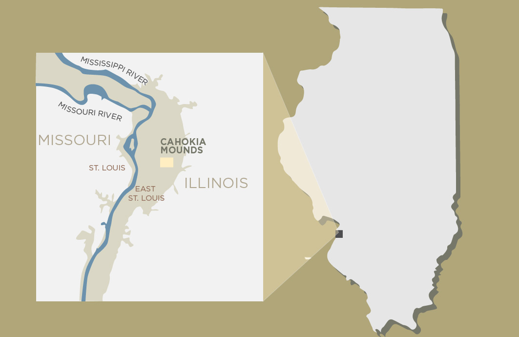 New studies offer insight into the people who lived and died in the pre-Columbian city of Cahokia, near present-day St. Louis. Graphic by Julie McMahon