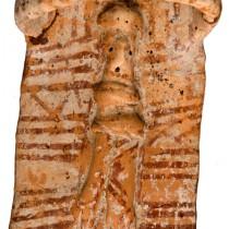 Private donation of prehistoric clay figurine