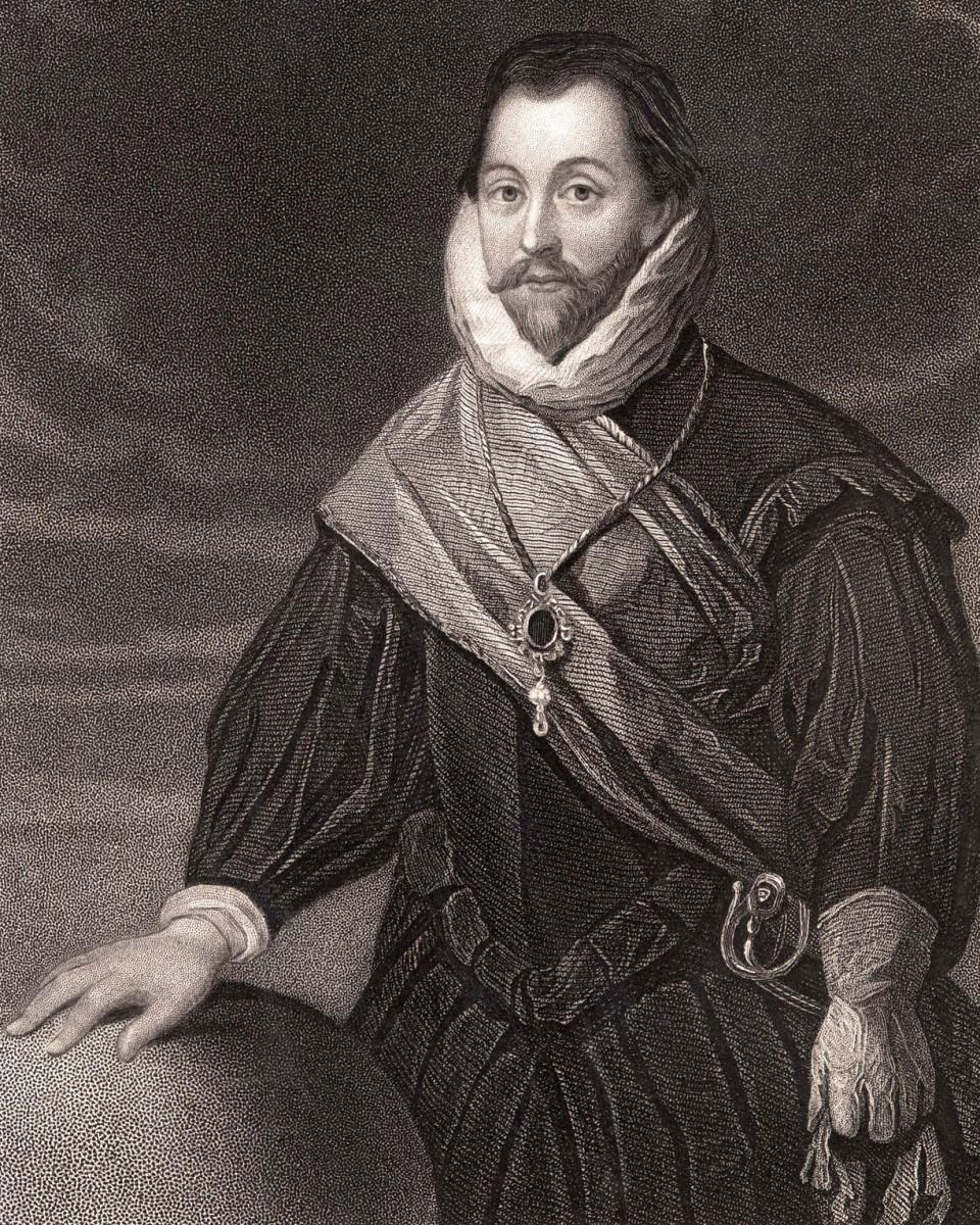 British explorer Sir Francis Drake, 1540-1596, who circumnavigated the globe. Photo Credit: ENA/The Guardian.