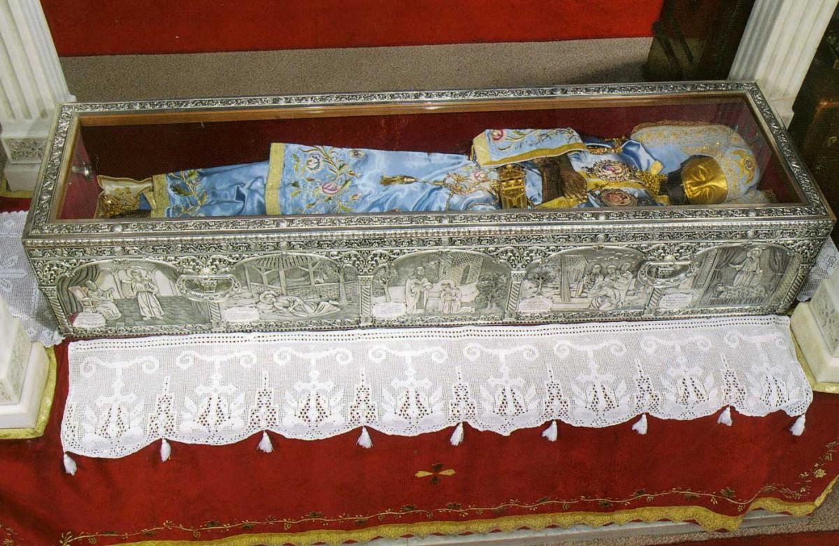 The relic of Saint John the Russian.