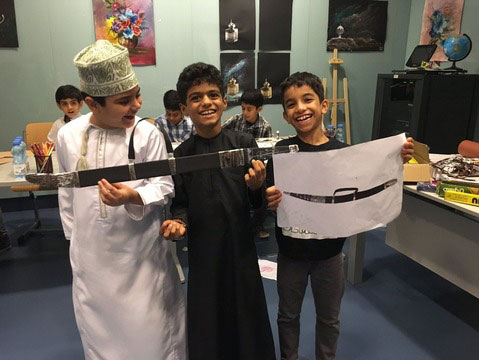The museum has a dedicated educational centre which organises workshops and activities for children and teenagers. Photo Credit: National Museum Oman/The Art Newspaper.