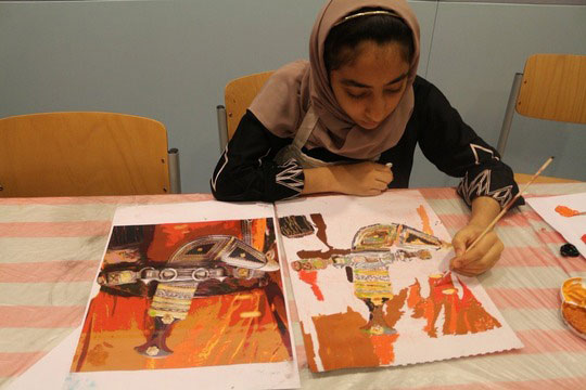 The museum has welcomed children and teenagers in summer workshops on various subjects. Photo Credit: National Museum Oman/The Art Newspaper.