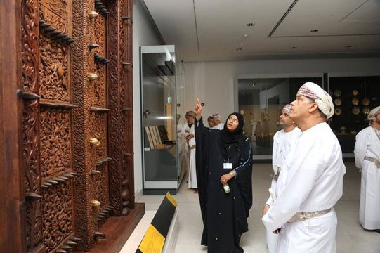 The museum was partly opened since December, mainly for educational purposes, and has now opened its gates to the public. Photo Credit: National Museum Oman/The Art Newspaper.