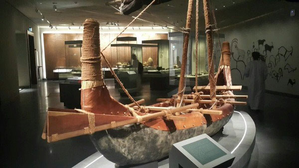 Around 5,500 objects are on display across 14 permanent galleries with themes such as Maritime History and Arms and Armour. Photo: National Museum Oman/The Art Newspaper.