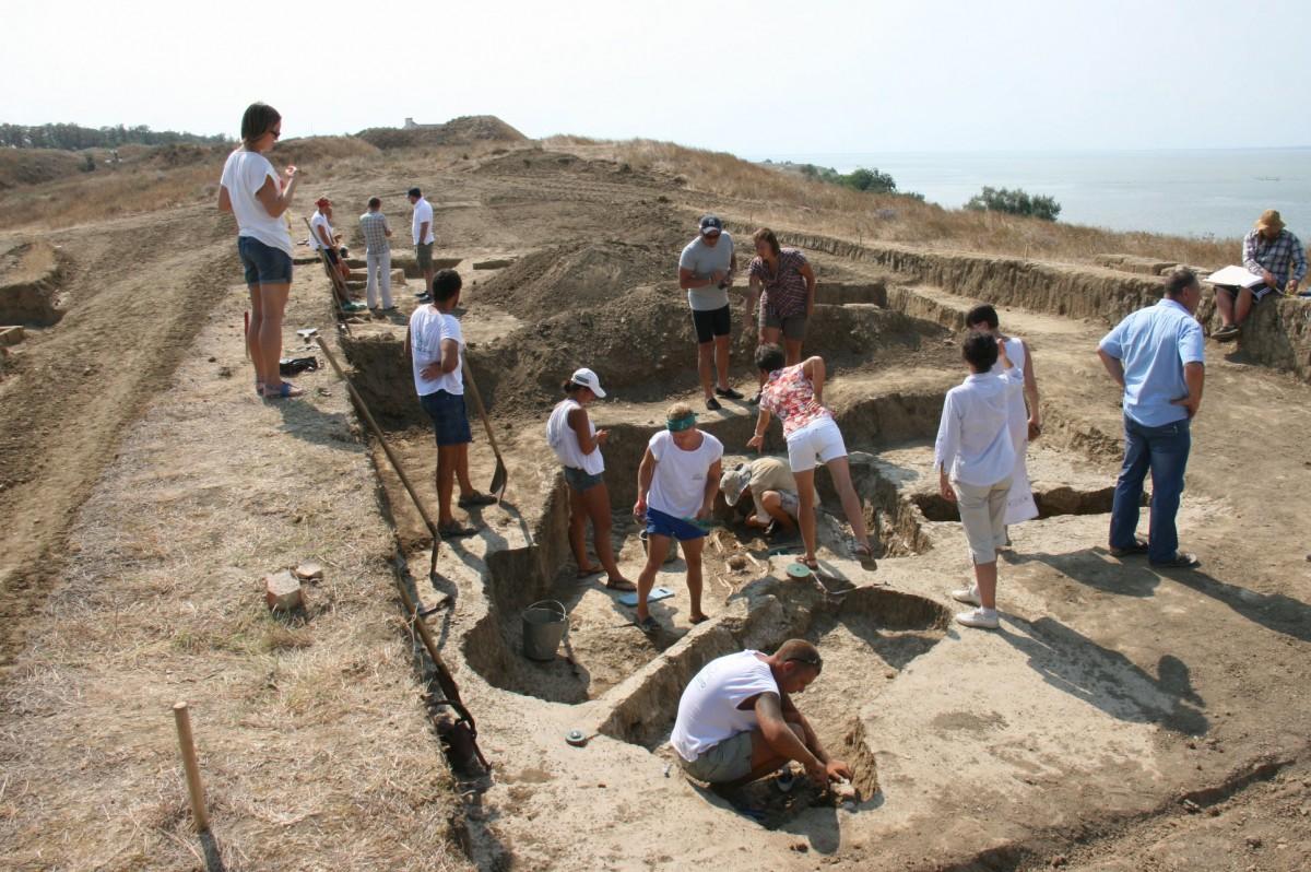 The necropolis of Phanagoria.
