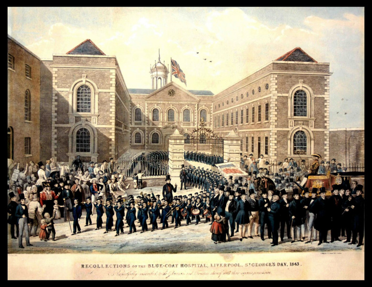 Bluecoat began as a charity school and went on to become the UK's first arts centre. Image credit: Bluecoats