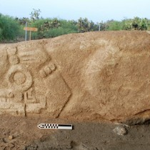 Field Museum scientists unearth centuries-old crocodile stone