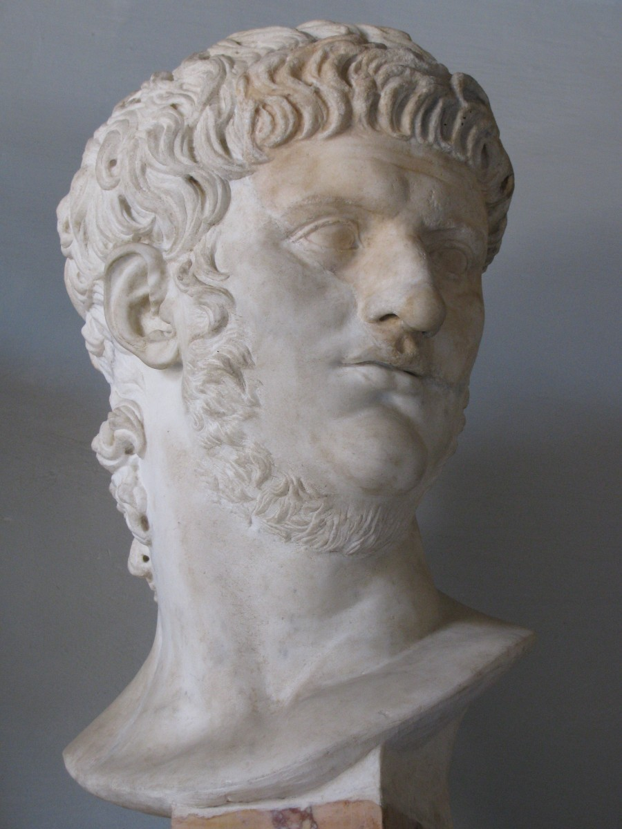 Bust of Nero at the Capitoline Museum, Rome.