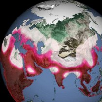 Past climate change swings orchestrated early human migration waves out of Africa