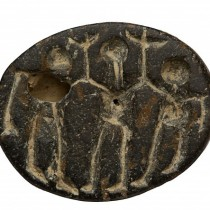 Israel dig unearths ancient seal with ritual dance scene