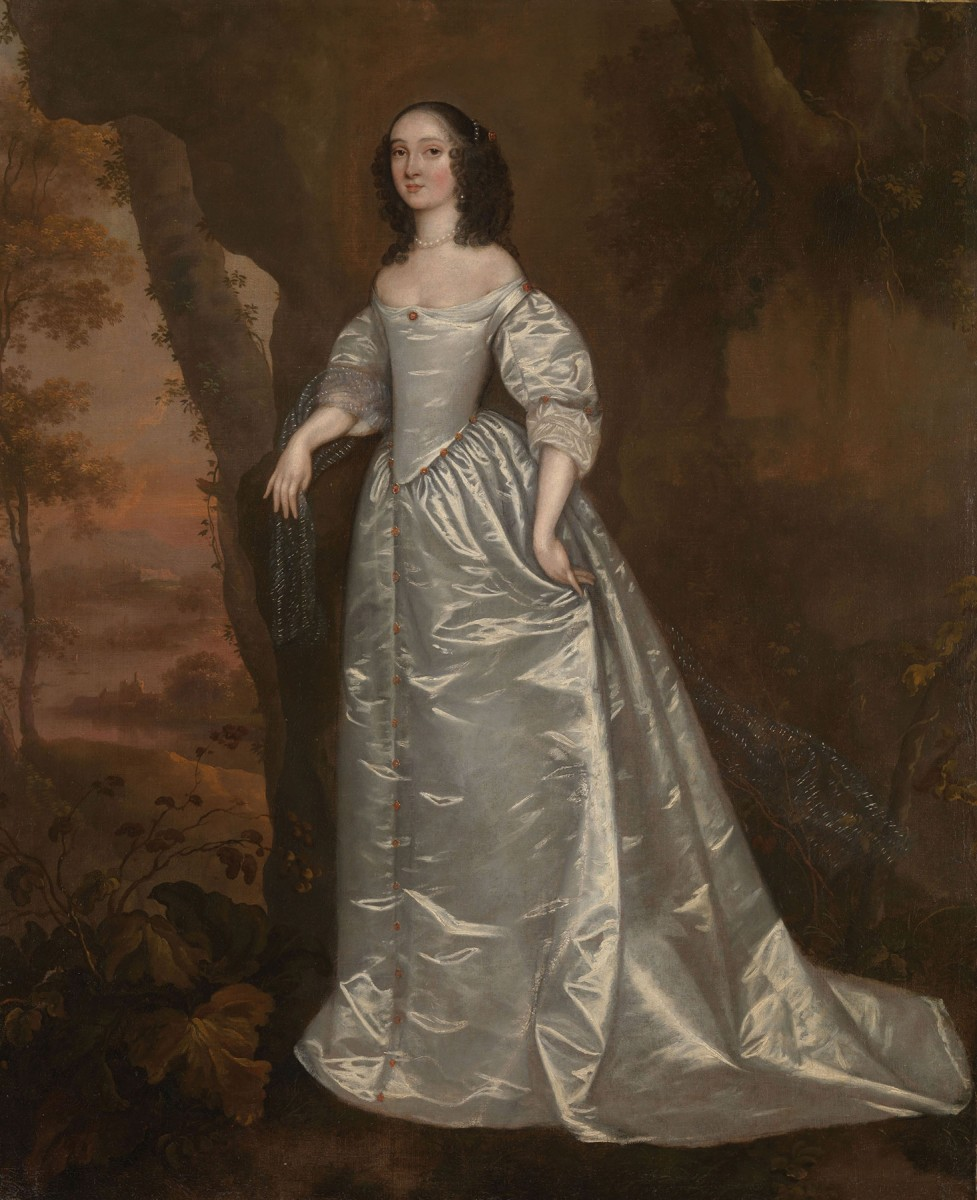 Joan Carlile, Portrait of an Unknown Lady, 1650-5. Credit: Tate Gallery