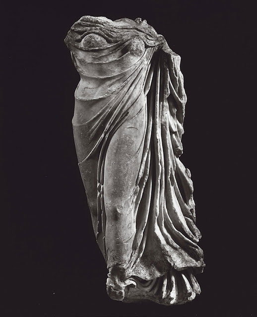 Torso of a draped goddess, believed to be a Roman copy of a Hellenistic work that  probably represents Aphrodite. Photo Credit: Ethnos/TANN.