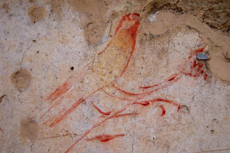 Fresco from Ostia Antica.