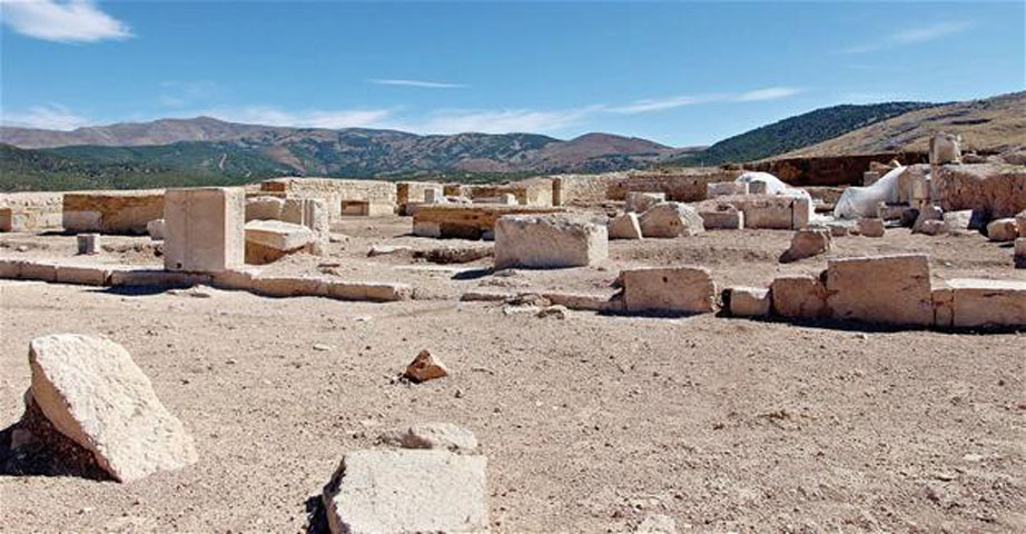 According to archaeologists, it was the third biggest church in the ancient city of Pisidia. Photo credit: DHA.