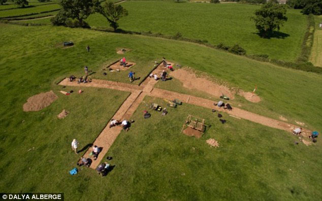 Earlier this year, a significant Early Bronze Age burial site was discovered near Morecambe Bay after Matthew Hepworth, a nurse, unearthed a Bronze Age chisel using a metal detector. Photo Credit: Dalya Alberge/Daily Mail.