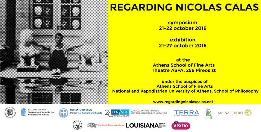 Poster of the symposium and exhibition.